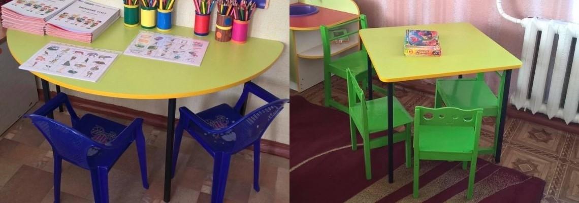Какие бывают столы для детских садиков?