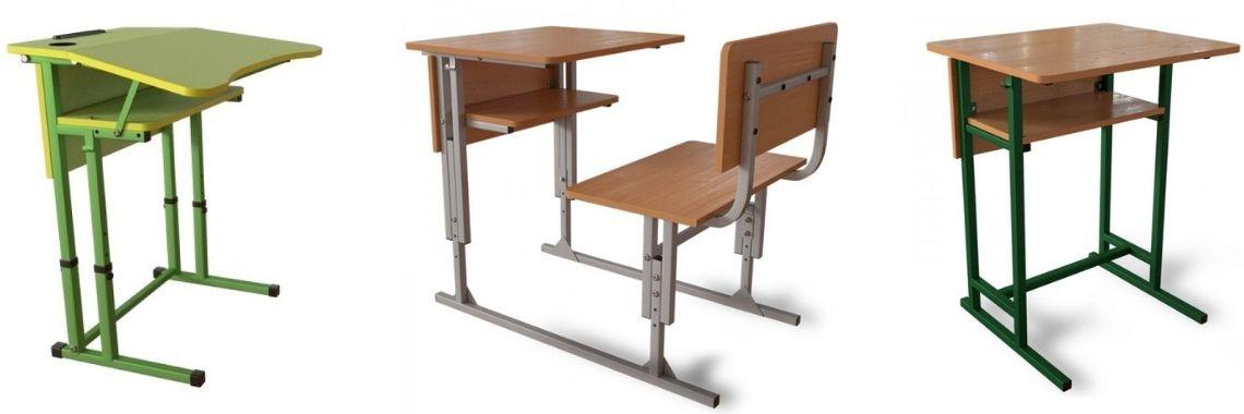 Ученический стол в учебное заведение: основные виды
