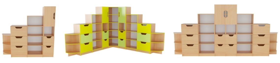 Офисная стенка Олимп: обзор для тех, кому важна вместительная мебель!