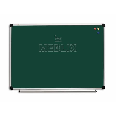 Школьная доска меловая магнитная 2400 х 1000 мм