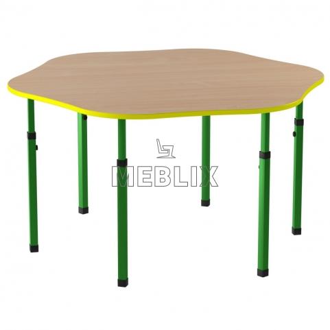 Детский стол Барвинок регулируемый по высоте