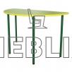 Полукруглый детский стол для садиков от производителя