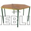 Шестигранный стол для детских садиков от производителя