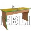 Стол детский регулируемый по высоте с выдвижными ящиками от производителя