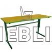 Детский стол регулируемый по высоте двухместный для садиков