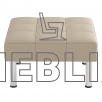 Офисный пуф Тетра кубической формы