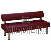 Мягкий диван для кафе и ресторанов Тетра Прямой