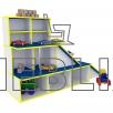 Детская игровая зона Автосалон для детских садиков
