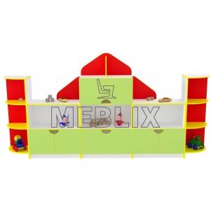 Игровая стенка Домик
