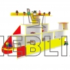 Игровая стенка детская Вертолет от производителя