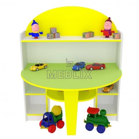 Стол для изобразительного искусства Ромашка для детских садов