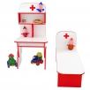 Детская игровая стенка Больница для детского садика