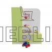 Игровая детская стенка Уголок Красоты 1