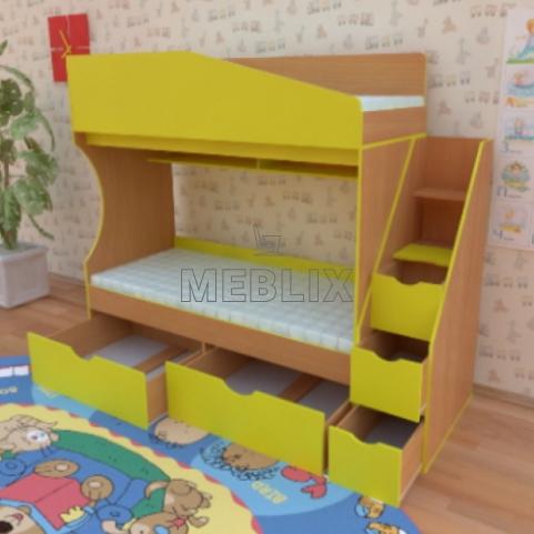 Кровать чердак Джунгли от производителя