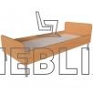 Купить кровать для общежития на металлическом каркасе