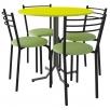 Комплект для кафе: Стол ДУЭТ + 4 стула НИКА