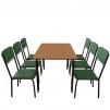 Обеденный комплект для кафе: стол Лира + 6 стульев Рио