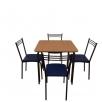 Купить комплект мебели для кафе: стол Лира + 4 стула Лада