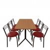 Комплект мебели для столовой:  стол Скорпион + 6 стульев Ника