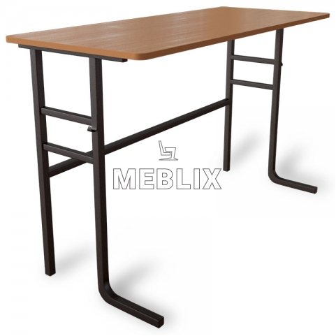 Стол аудиторный ученический двухместный