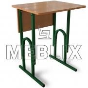 Стол школьный одноместный П-образный регулируемый по высоте
