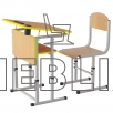 Комплект парта и стул для Новой украинской школы Растишка