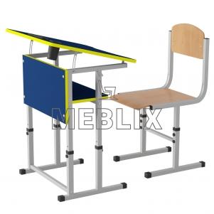 Комплект парта и стул Растишка