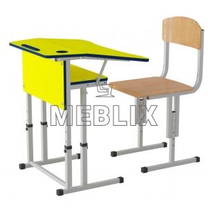 Комплект Трапеция стол + стул