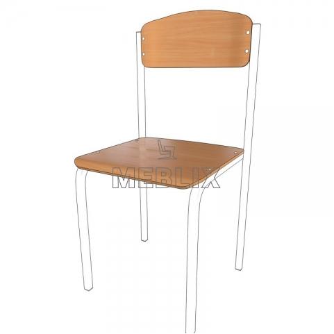 Гнутоклееная фанера для ремонта ученического стула