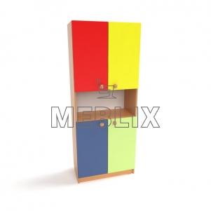 Шкаф для детских пособий Д-1