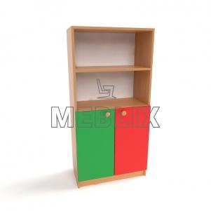 Шкафчик для пособий в садик Д-4