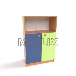 Шкаф для пособий детский Д-6