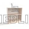 Стеллаж Д-9 для детских садиков от производителя