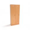 Шкаф для раздевалки в детском саду (2 секции) от производителя