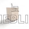 Офисная мобильная тумба для документов Т-1