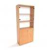 Офисный шкаф для документов со стеклом ШД-4