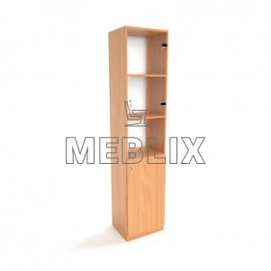 Медицинский шкаф для документов со стеклом ШД-6