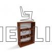 Офисная шкаф-тумба для документов ШТ-3