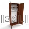 Офисные шкафы для верхней одежды ШО-1