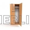 Шкаф офисный для верхней одежды ШО-2