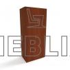 Шкаф для медицинской одежды ШО-2 от производителя
