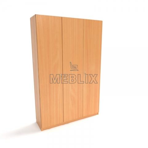Шкаф для медицинских учреждений ШО-4 для хранения одежды