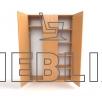 Шкафофисный для верхней одежды ШО-4