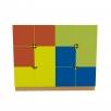 Учебная стенка для дидактических материалов для НУШ Мозаика 1