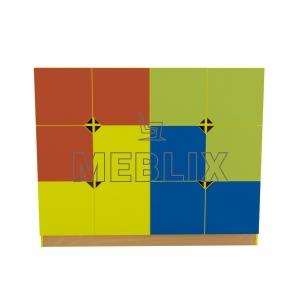 Стенка для детских пособий Мозаика 1