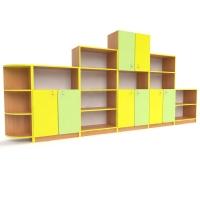 Шкафы для игрушек и пособий