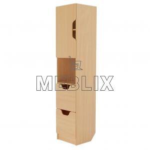 Шкаф для документов Олимп (секция)