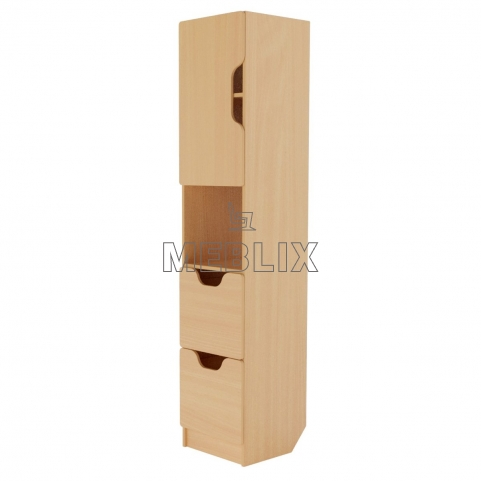 Вместительный шкаф для документов Олимп (секция)