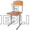 Школьный стул Кадет регулируемый по высоте с гнутоклееной фанерой от производителя