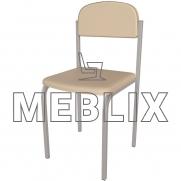 Стул школьный Карина с мягким сиденьем и спинкой